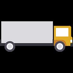 Camion Fret déménagement maritime Lucas outre-mer