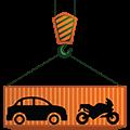Conteneur Transport de véhicule auto moto Déménagement-maritime Lucas Outre-mer