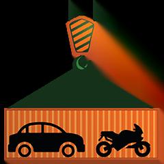 Conteneur Transport auto-moto Déménagement-maritime Lucas Outre-mer
