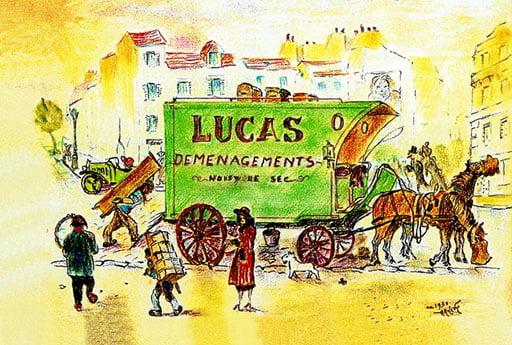 Déménagement déménageur Lucas depuis 1953