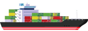 Cargo Guadeloupe, Maritinique, Guyane, France, DOM-TOM Lucas Outre-mer