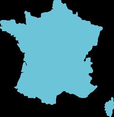 Carte France-Métropole - Déménagement France - site web : lucas-outre-mer.fr