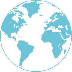 globe-terrestre - Déménagement international - site web : lucas-outre-mer.fr