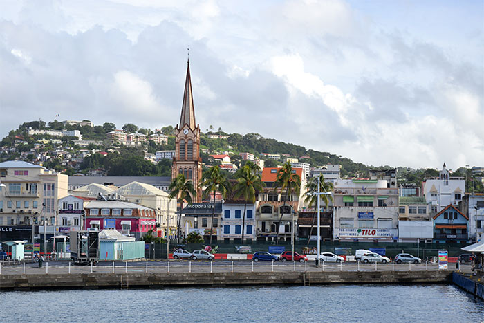 Martinique - Fort-de-France - Déménagement Maritime - site web : lucas-outre-mer.fr